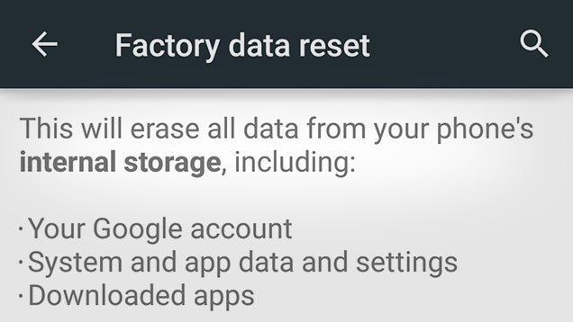 Reminder: Android Phones May Still Leave Data Vulnerable After Reset