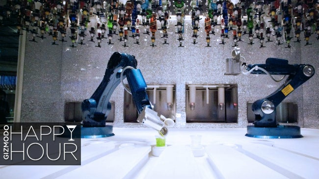Meet the Robots Who Will Steal Bartenders' Jobs (or Not)