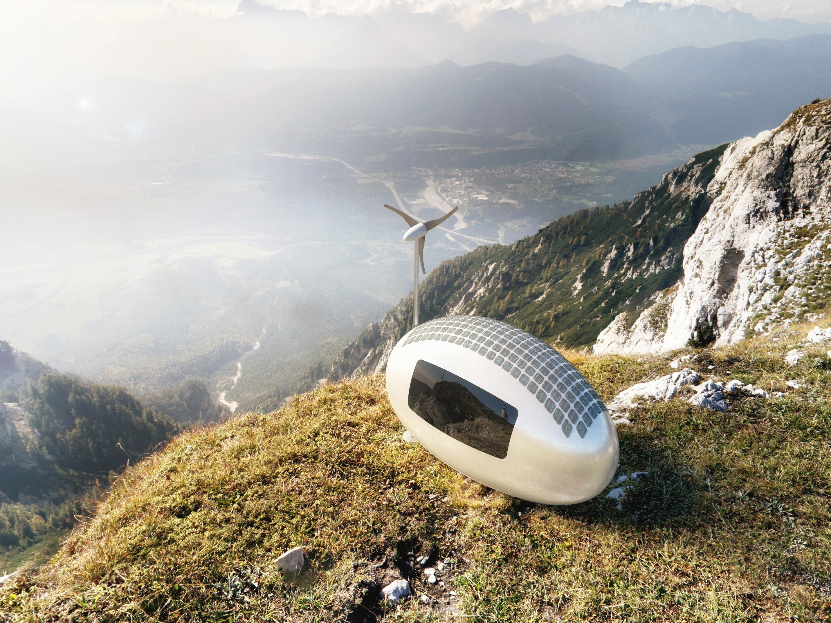 You Can Take this Little Wind and Solar Powered Home Anywhere