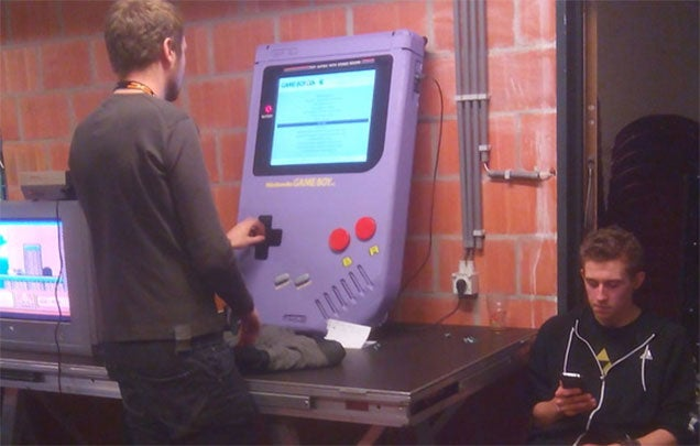 Game Boy XXL Is A Handheld For Giants