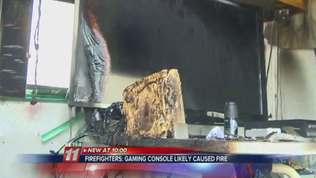 Nintendo Wii Blamed for Fire