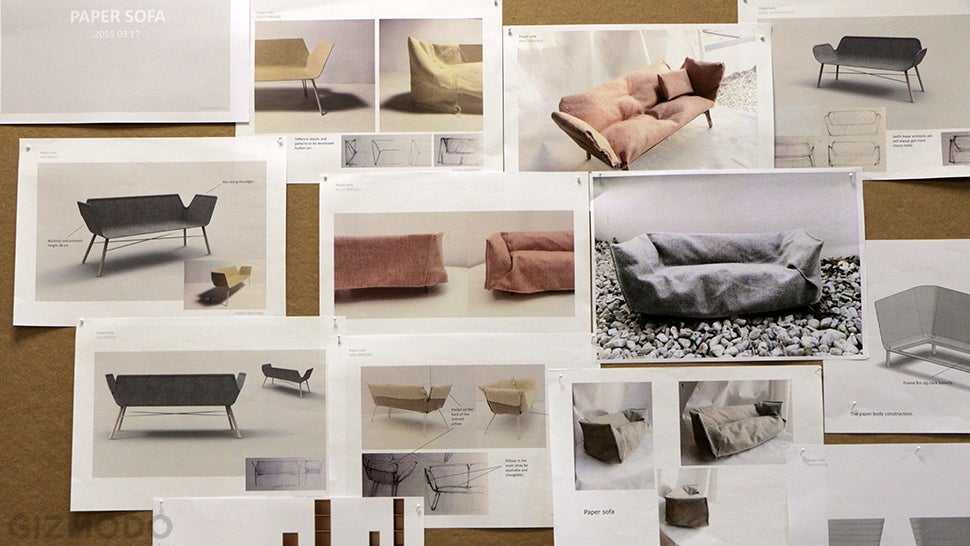 And Now IKEA Is Making Sofas Out of Paper