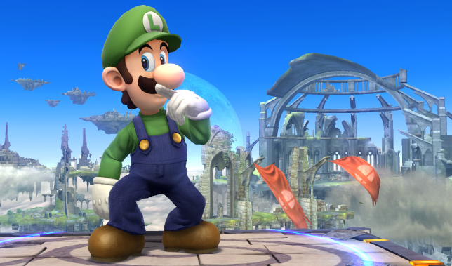 Luigi Destroys Smash Bros. Wii U By Doing Absolutely Nothing