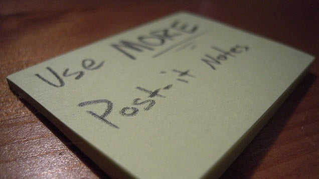 Persuade People to Complete Tasks with Personalised Sticky Notes
