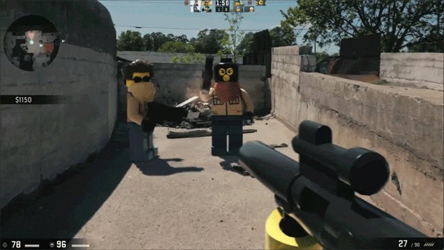 First Person Shooters Get A LEGO Overhaul