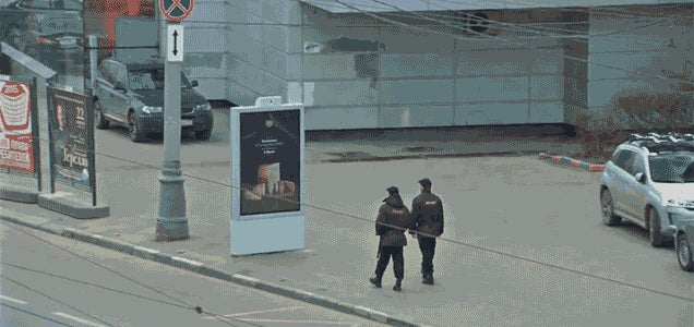 This Ad for Banned Food in Russia Can Hide Itself From the Cops
