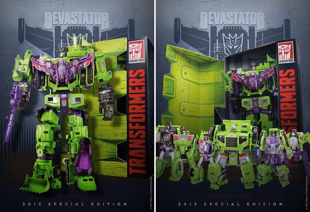 There's Already a Special Edition of That New Devastator for Comic-Con