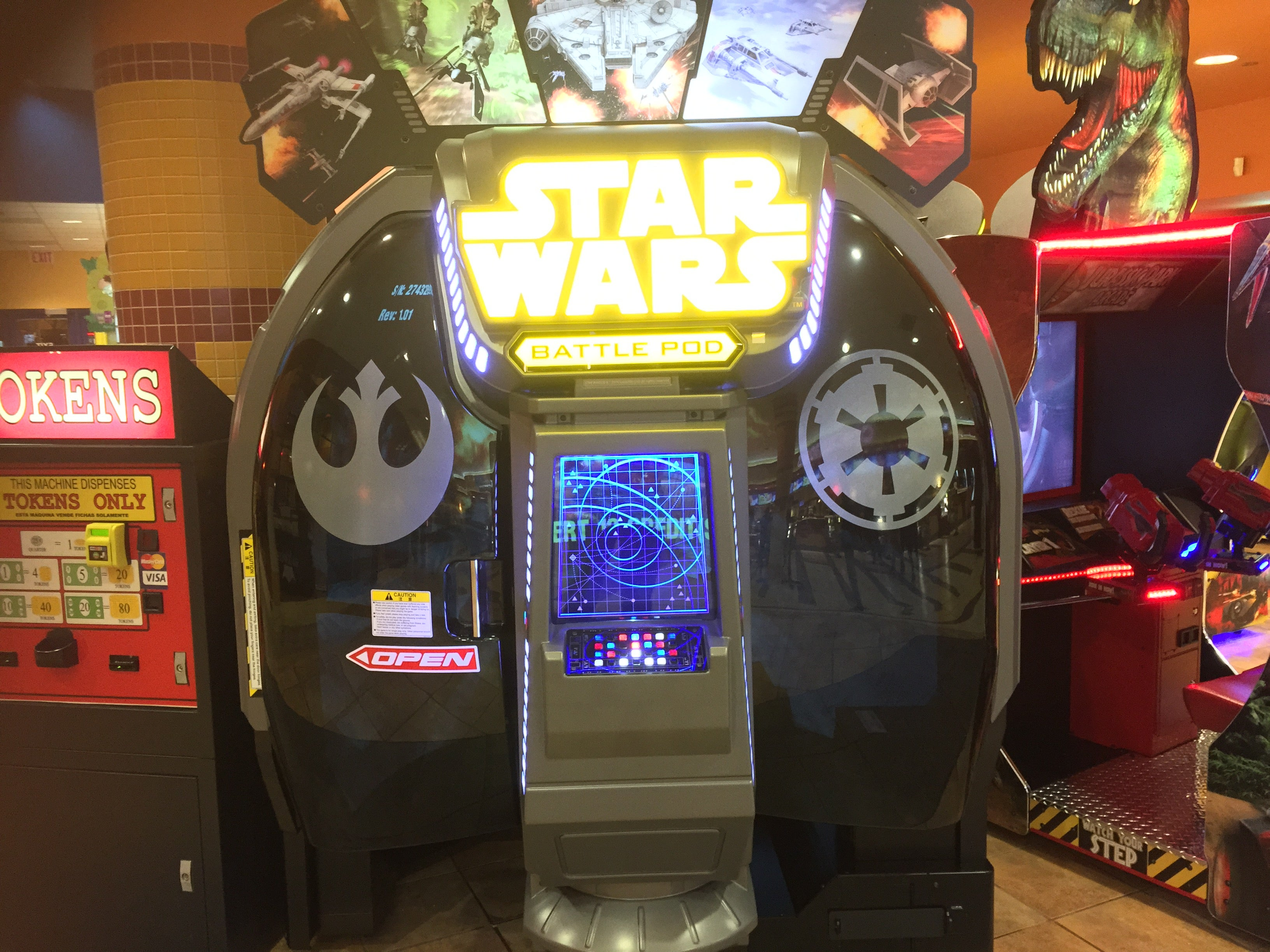 The New Star Wars Arcade Game Is Worth Tracking Down