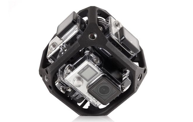 GoPro's Making Spherical Camera Mounts For VR Video (and Drones Too)
