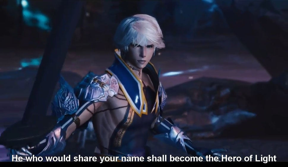 The Mobius Final Fantasy Trailer with English Subtitles