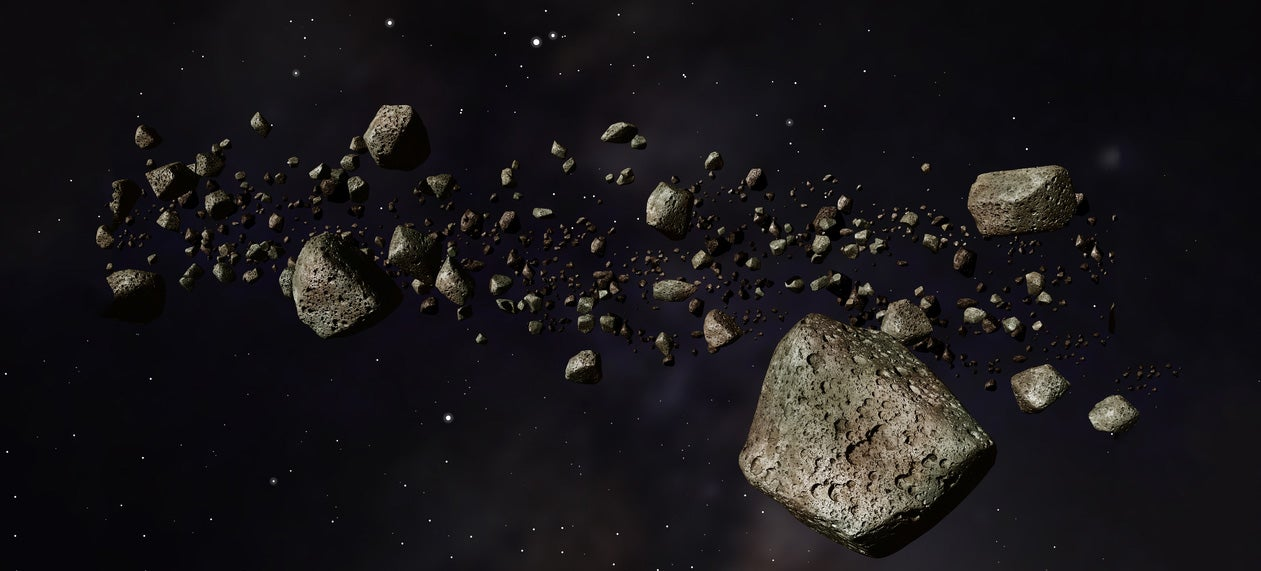 Dust from Asteroid Mining Could Turn Into Another Space Junk Hazard
