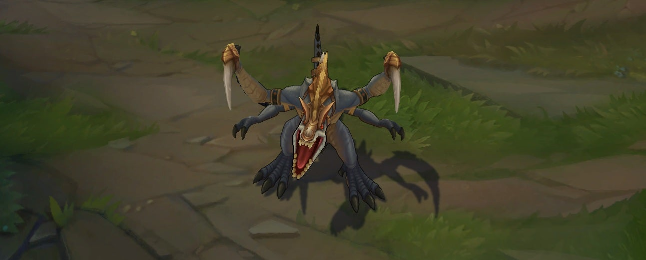 Check Out These Rad Dino Skins For League Of Legends