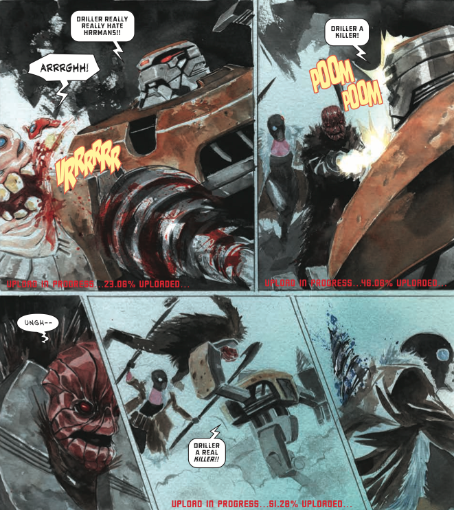Descender Is A Comic You Should Read if You Like Mass Effect