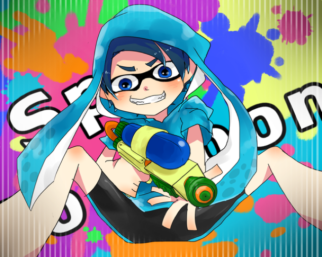 And Now, Some Splatoon Fan Art