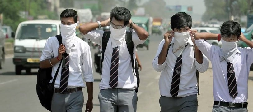 India's Air Pollution Is So Bad It's Causing Lung Damage in Kids