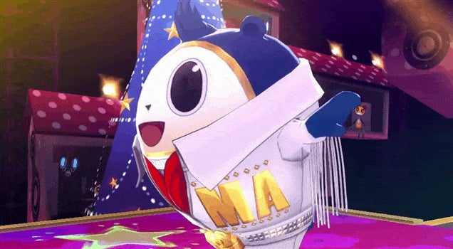 And Now Persona's Dancing Bear
