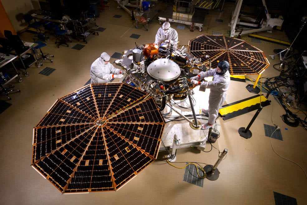 An Inside Look at the Construction of NASA's Next Mission to Mars