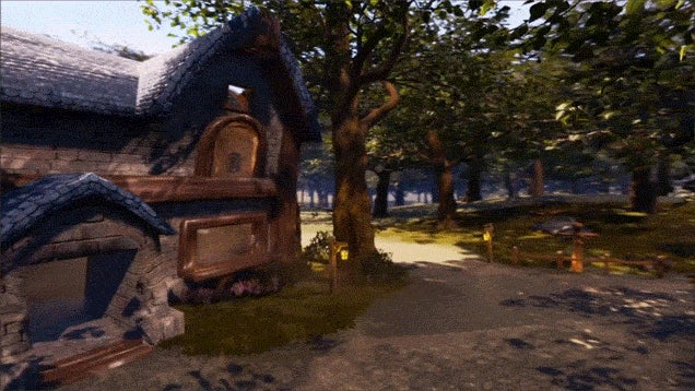 World of Warcraft's Elwynn Forest Polished Up In Unreal Engine 4