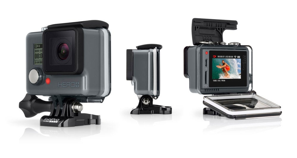 The Hero+ LCD Is GoPro's New, Cheaper Touchscreen Action Cam