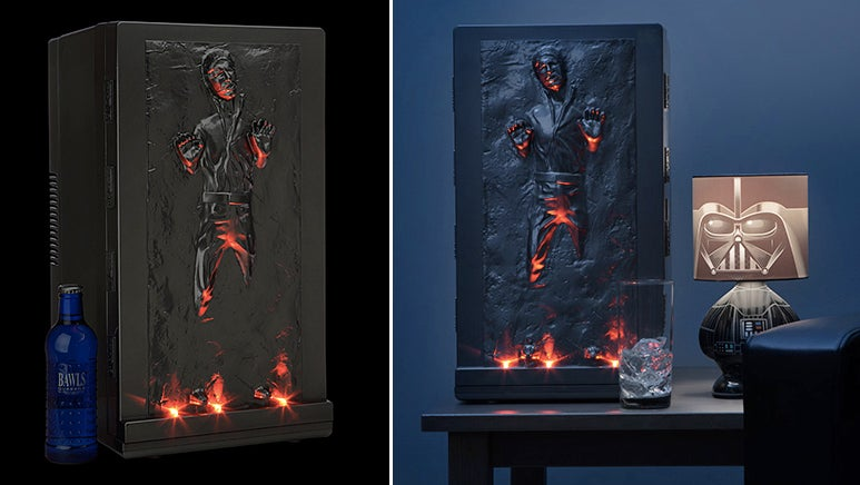 Han Solo Frozen in Carbonite Mini Fridge: