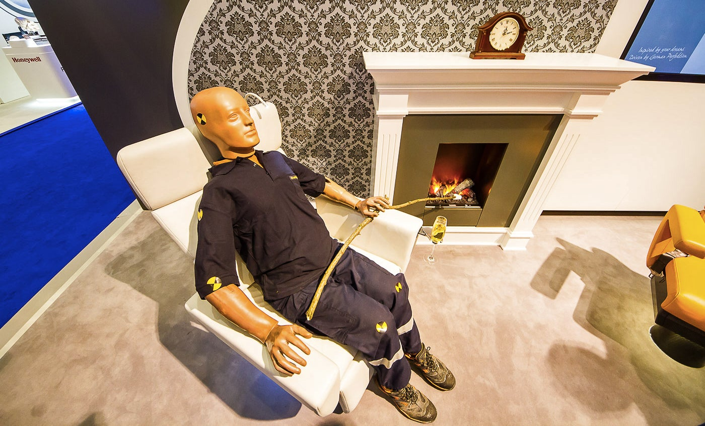 Lufthansa Redefines Unnecessary Luxury With Fireplaces For Private Jets