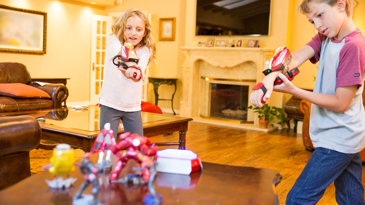 Kids Toys Action Figure: Disney's Interactive Playmation Toys Turn Kids Into Action
