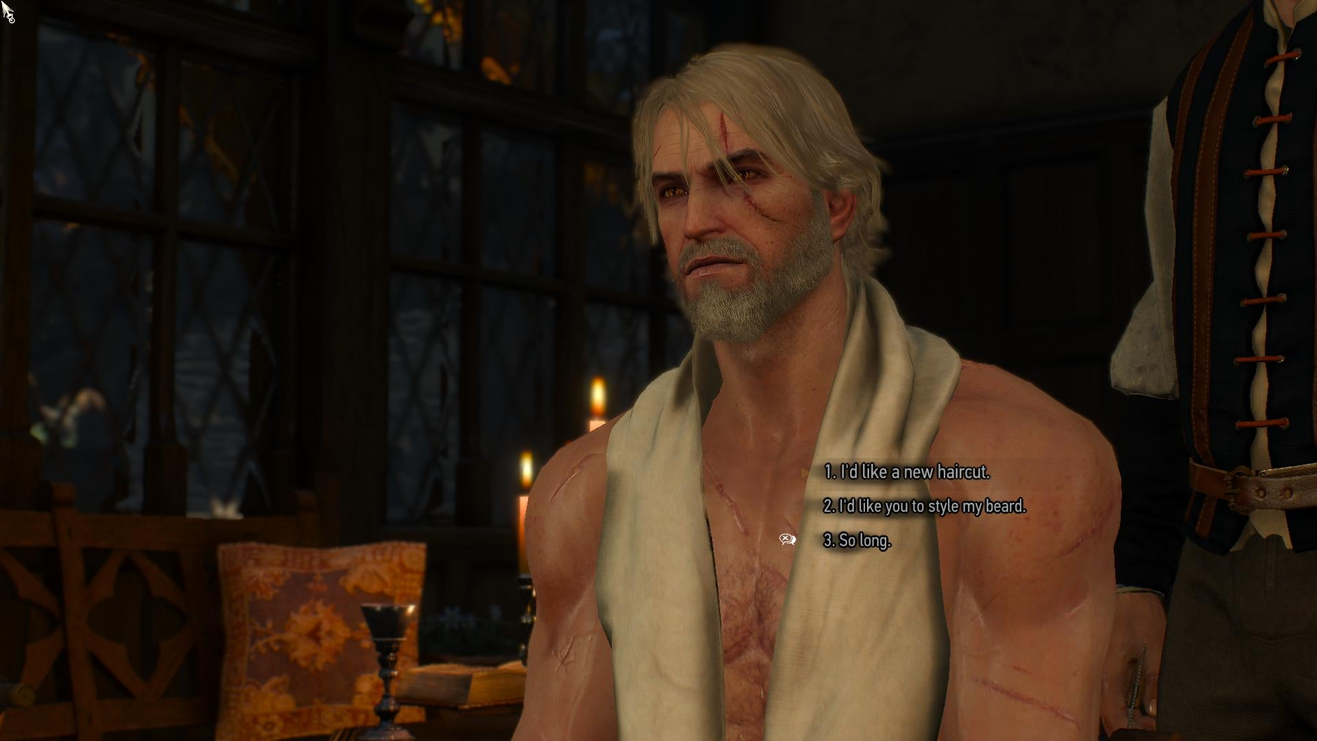 Witcher 3 Hair Styles: The Witcher 3's Free DLC So Far: Monsters, Beards, And A