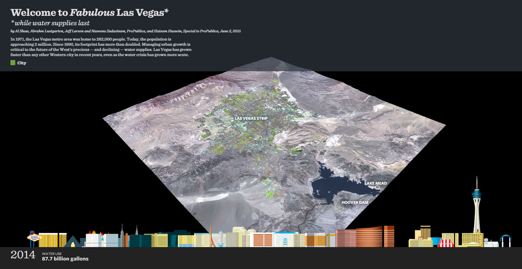 Watch Las Vegas' Population Boom As Its Primary Water Source Drains