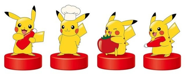 Pikachu Is Selling Ketchup in Japan