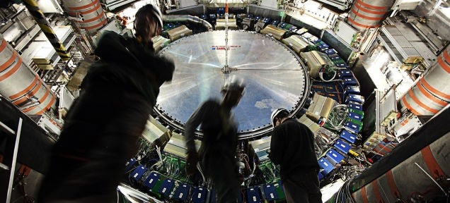 From Today the LHC Runs at Full Power to Push the Limits of Physics
