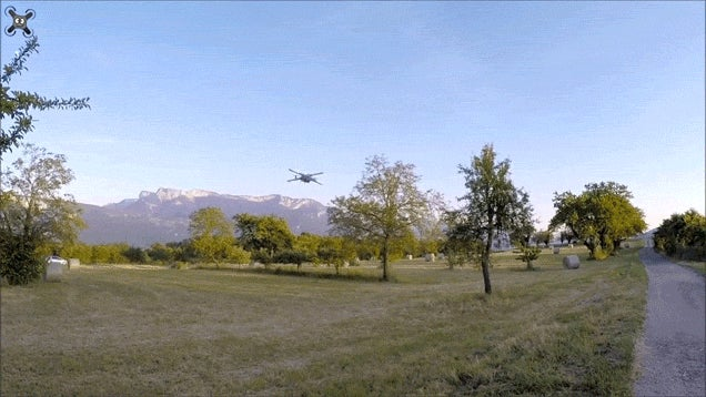 Awesome Star Wars X-Wing Drone Takes It To The Sky