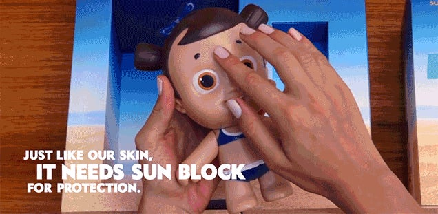 These Dolls Get Sunburns To Teach Kids About Using Sunscreen