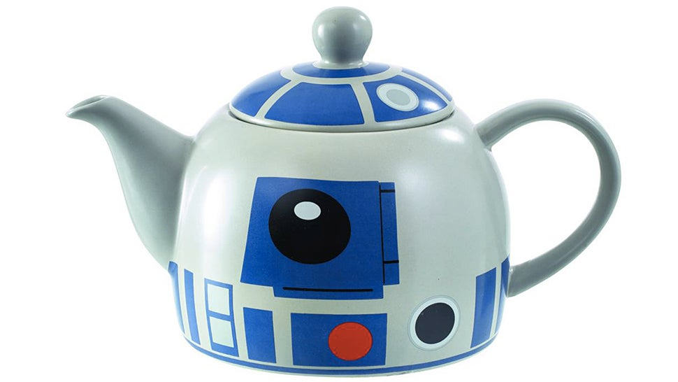 Afternoon Tea Is Even More Civilized With an R2-D2 Teapot