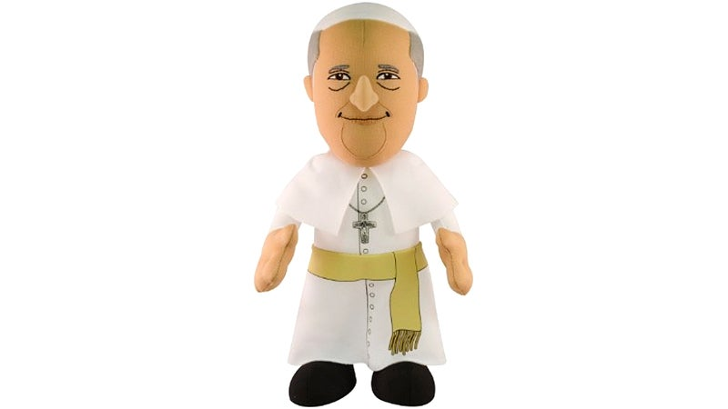 Your Confessions Are Completely Safe With This Plush Pope