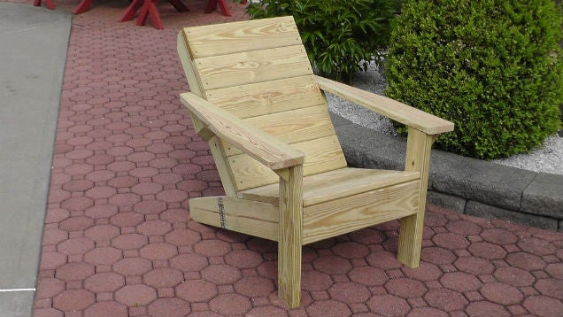 Build a Quality Backyard Lounge Chair for $US40