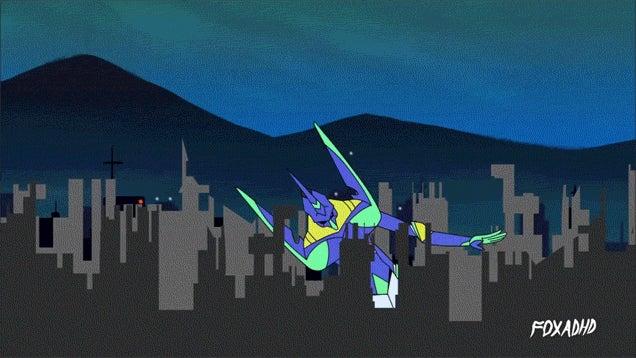 If Michael Bay Directed Neon Genesis Evangelion