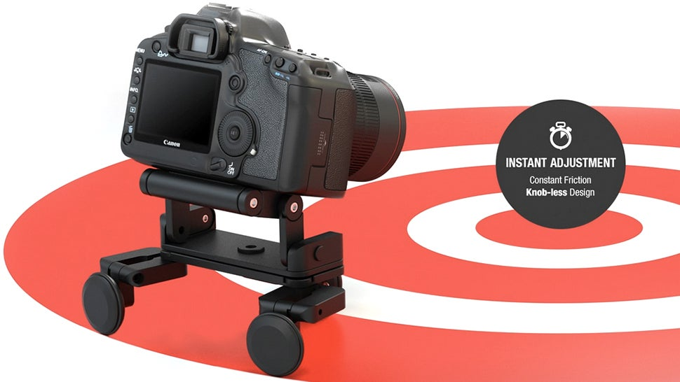 A Tiny Transforming Dolly That Can Stay Attached to Your Camera