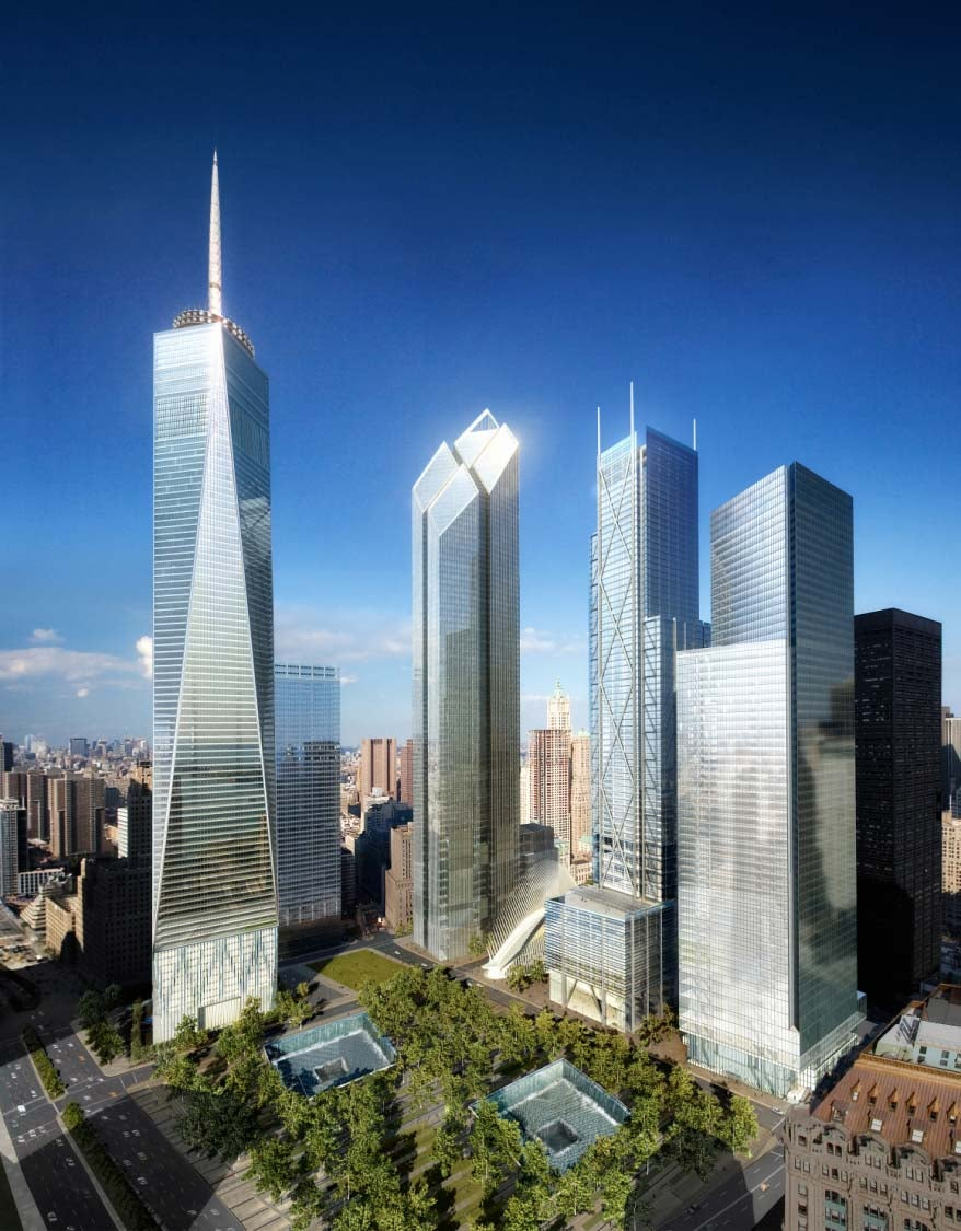A Look at the Final WTC Skyscraper, and the Design That Was Rejected