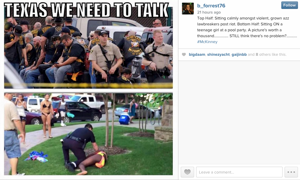 This Should Be The Dominant Image of Texas' Police Brutality Pool Party