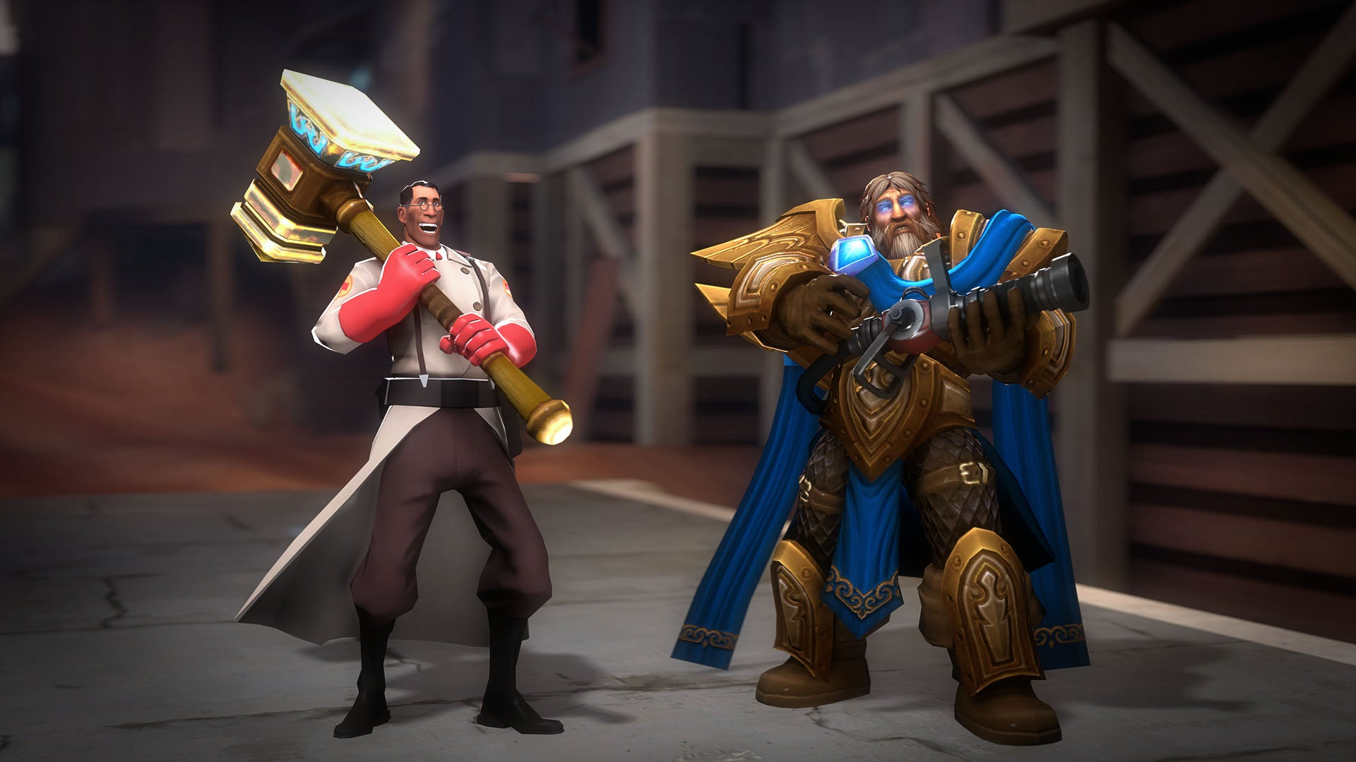 Heroes Of The Storm And Team Fortress Look Nice Together