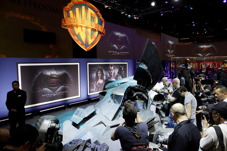 The Badass Batman v Superman Batmobile Has Officially Been Revealed