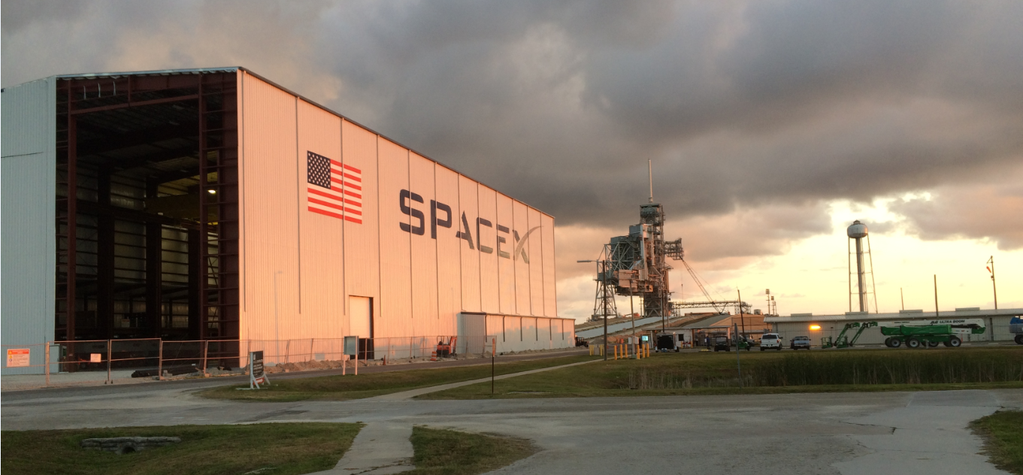 SpaceX's New Hangar Is A Mammoth Gateway To The Stars