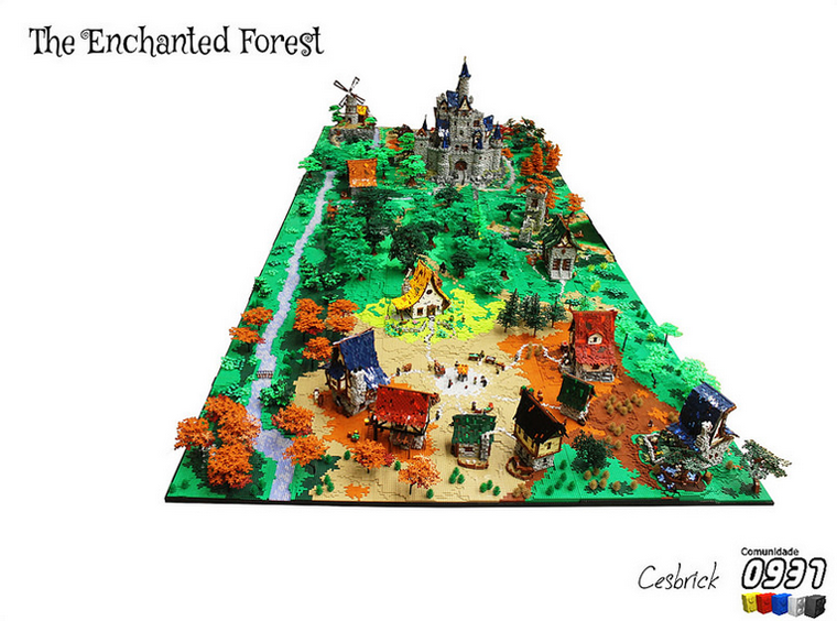 LEGO Enchanted Forest Is Like Something Out Of A Ghibli Anime