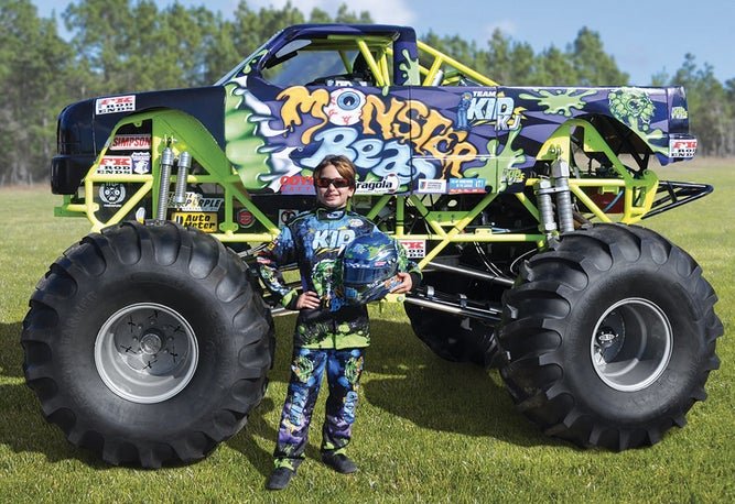 for 125 000 you can buy your kid a miniature monster truck gizmodo australia. Black Bedroom Furniture Sets. Home Design Ideas