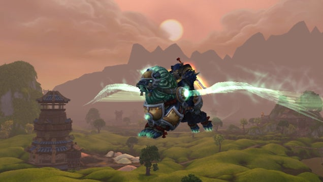 Blizzard Finds Perfect Solution To World Of Warcraft's Flying Problem