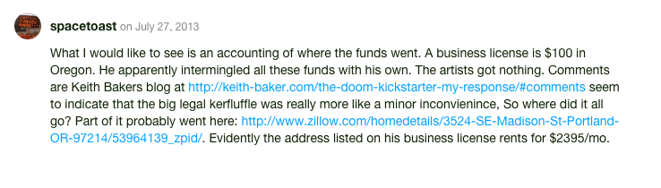 For The First Time, FTC Takes Action Against Failed Kickstarter