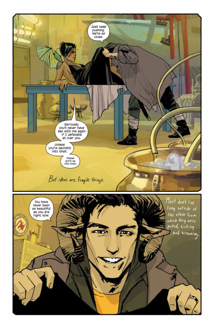 Reminder: Saga Is One of the Best Comic Books in the Entire Universe