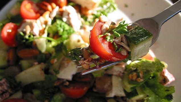 The Restaurant Secret for Tastier Salads: Add Salt