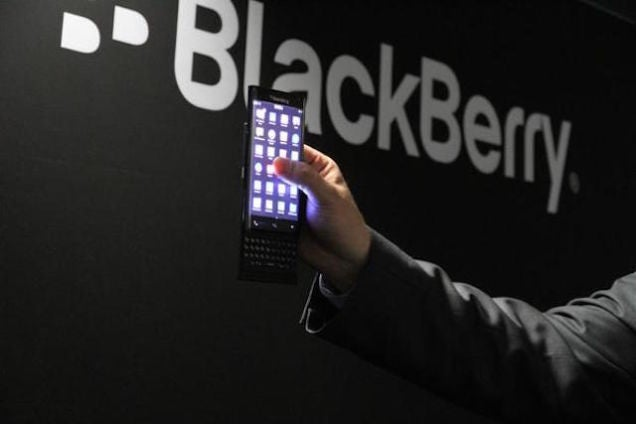Blackberry Might Be Making an Android Phone