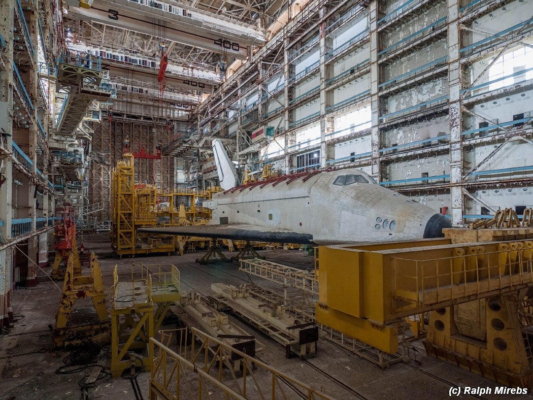 These Are the Sad Remains of the Soviet Space Shuttle Program